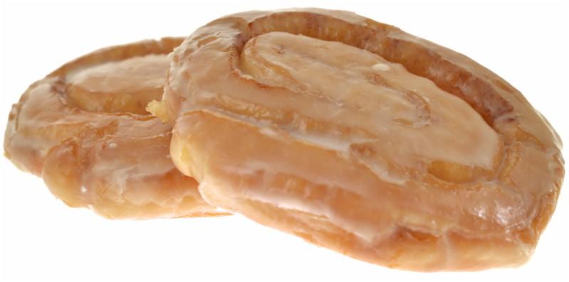 Iced Honey Bun Cake