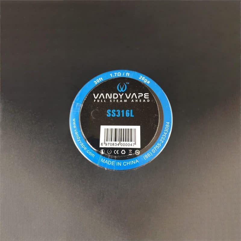 Vandy Vape SS316L Wire 26ga