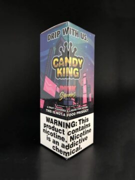 Candy King Pink Squares