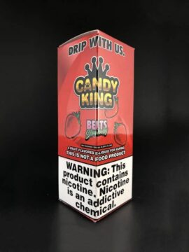 Candy King Strawberry Belts