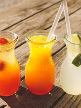 Lemonades Teas and Punches