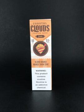 Coastal Clouds-60mL Blood Orange Mango Snow Cone