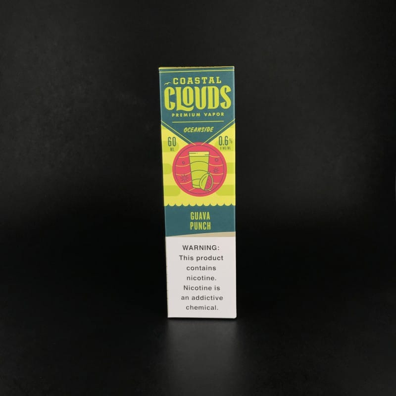 Coastal Clouds 60mL Guava Punch