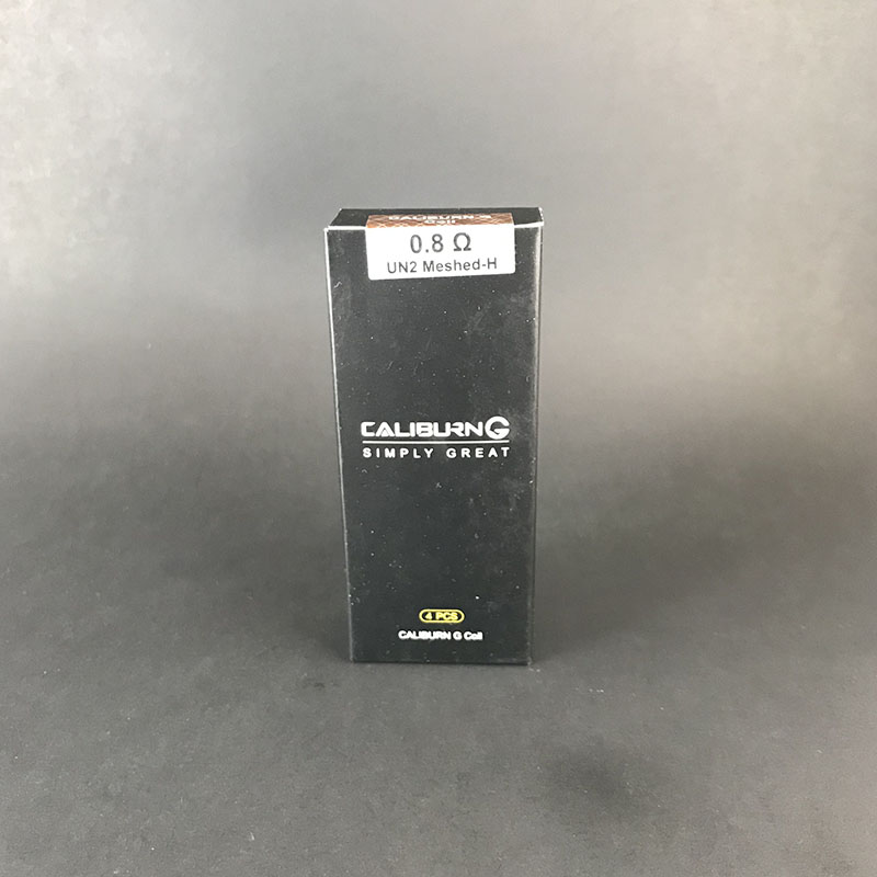 Uwell Caliburn G UN2 Meshed-H 0.8 ohm Coils - 4 Pack