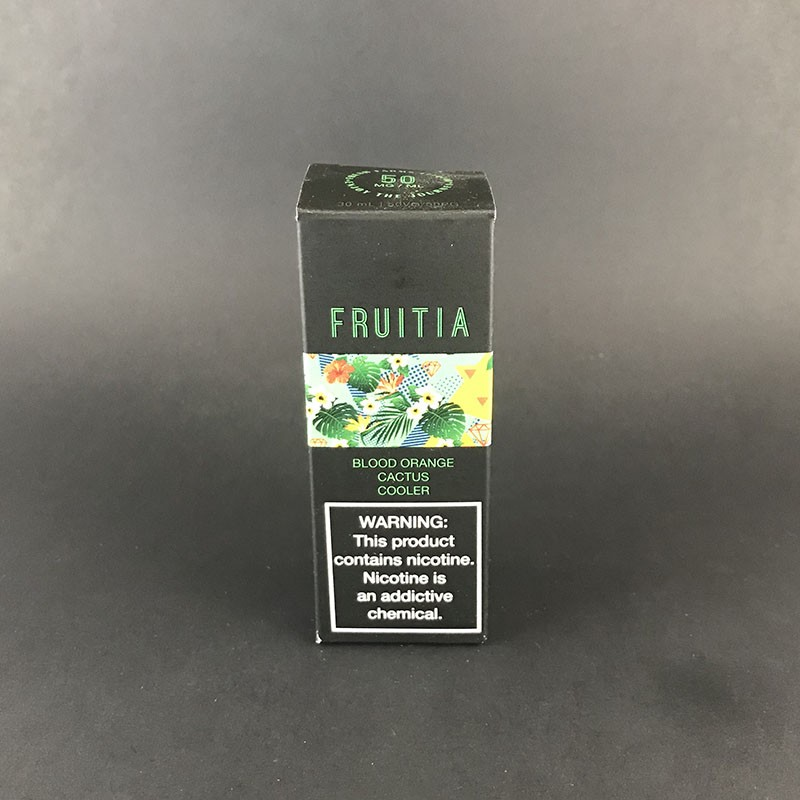 Fruitia Salt Blood Orange Cactus Cooler