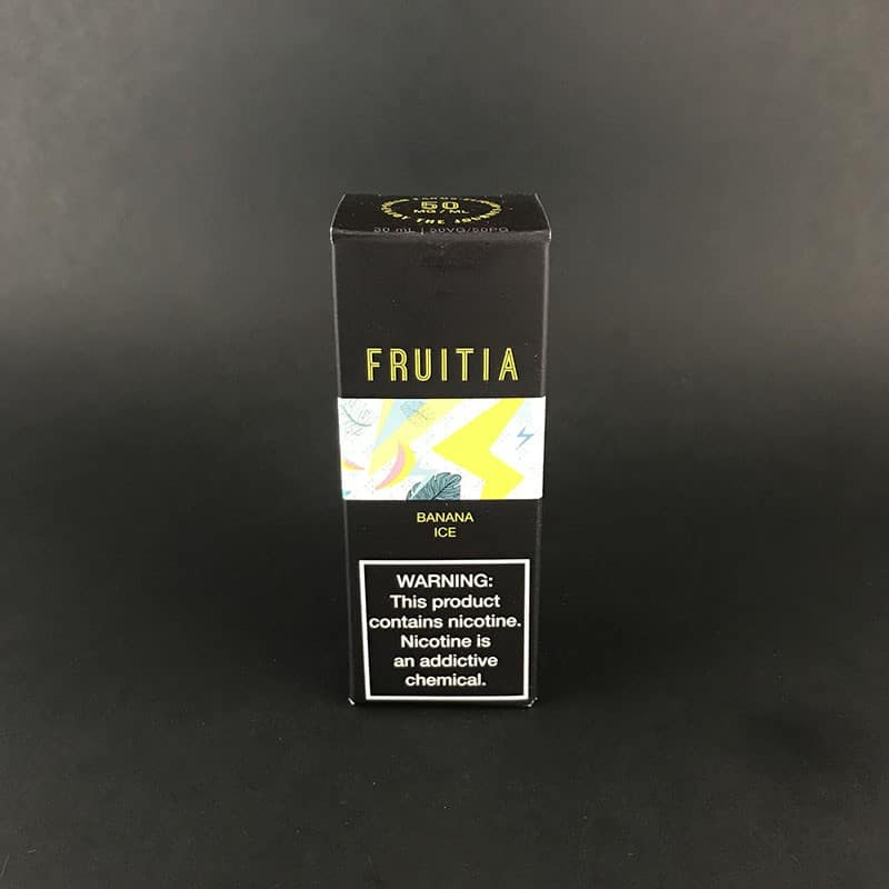 Fruitia Salt Smooth Banana Ice