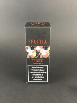 Fruitia Salt Strawberry Coconut Refresher