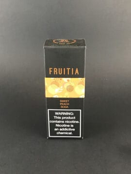 Fruitia Salt - Sweet Peach Soda