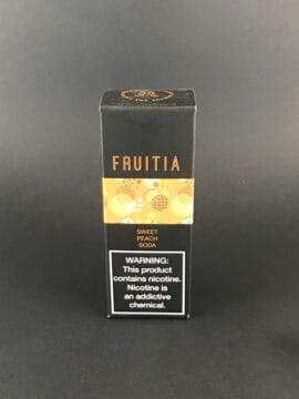 Fruitia Salt - Sweet Peach Soda